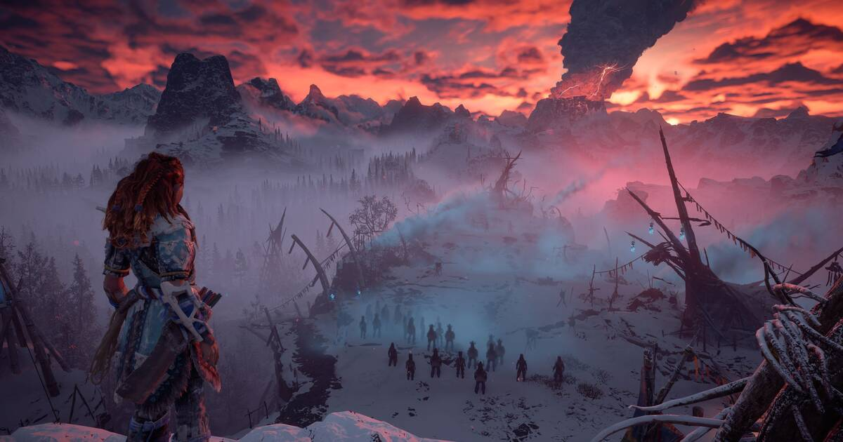 Guerrilla muestra 12 minutos de jugabilidad de The Frozen Wilds