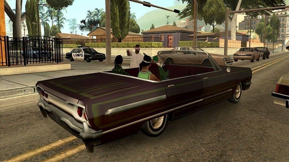 San Andreas Midnight Club LA y Table Tennis retrocompatibles en Xbox One