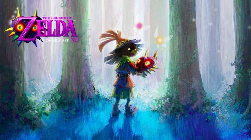 Nuevo tráiler de The Legend of Zelda: Majora's Mask 3D