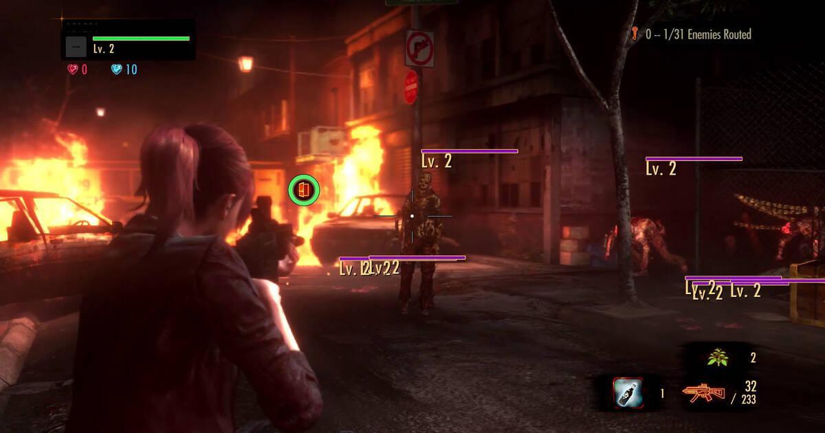 Resident Evil Revelations 2 se lanzará en PS Vita este verano