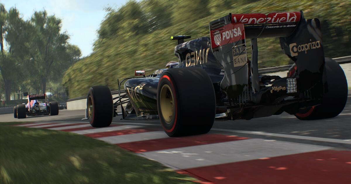 F1 2015 se vuelve a mostrar en nuevas imágenes