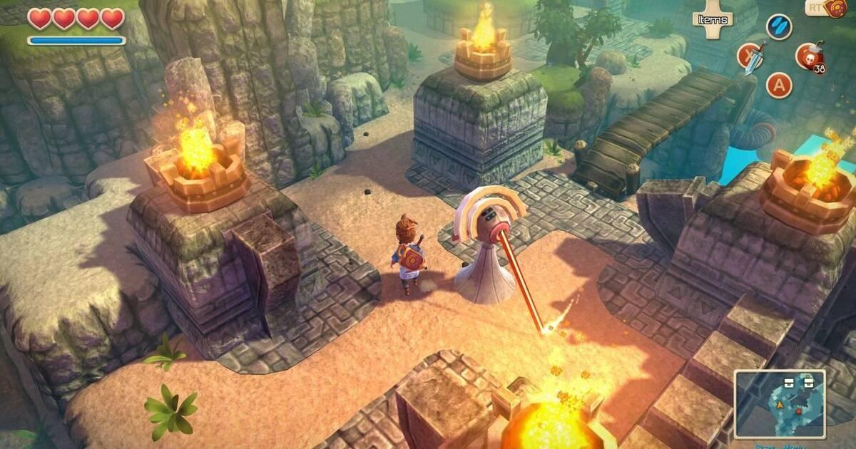 Oceanhorn: Monster of Uncharted Seas, inspirado en Zelda, llega a consolas el 7 de septiembre