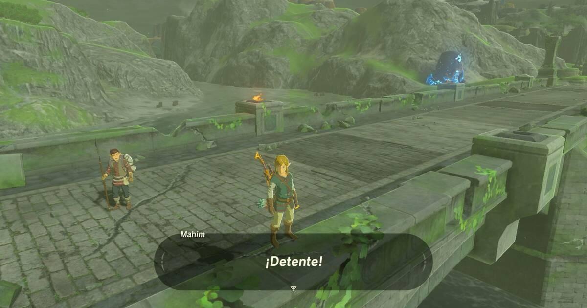 Un personaje de Zelda: Breath of the Wild no quiere que Link se suicide