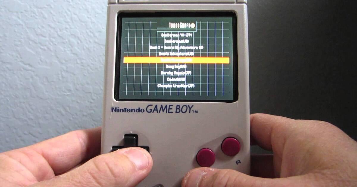 Reconstruye una Game Boy usando una Raspberry Pi