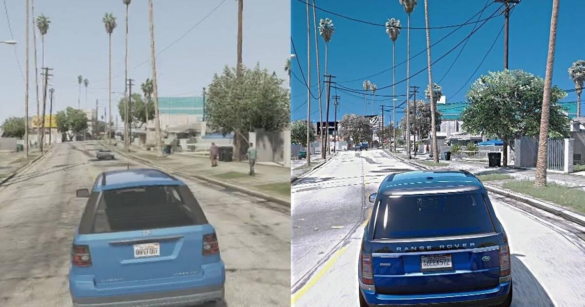 Así se ve GTA V con mods en un PC de 10 000 dólares - Vandal
