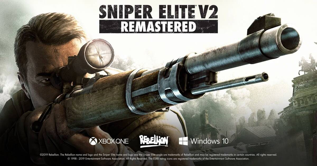 Se filtra el anuncio y tráiler de Sniper Elite V2 Remastered