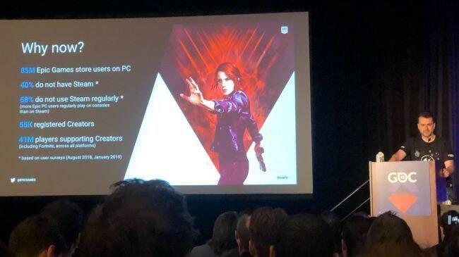 Epic Games Store lanza un hiriente dardo a Steam