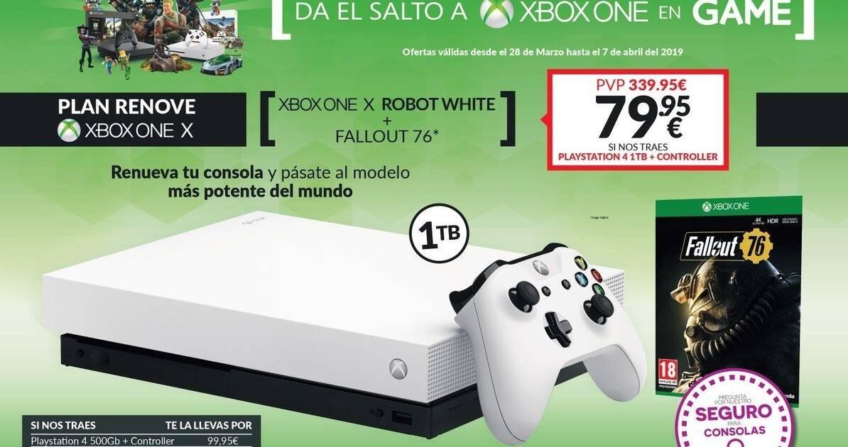 Game Anuncia Un Plan Renove Para Hacerse Con Xbox One X Al Mejor