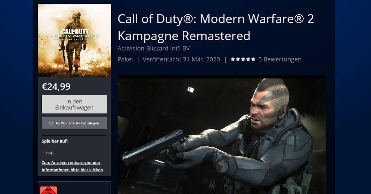 Cod Modern Warfare 2 Remastered Lanzamiento Trailer Y Precio