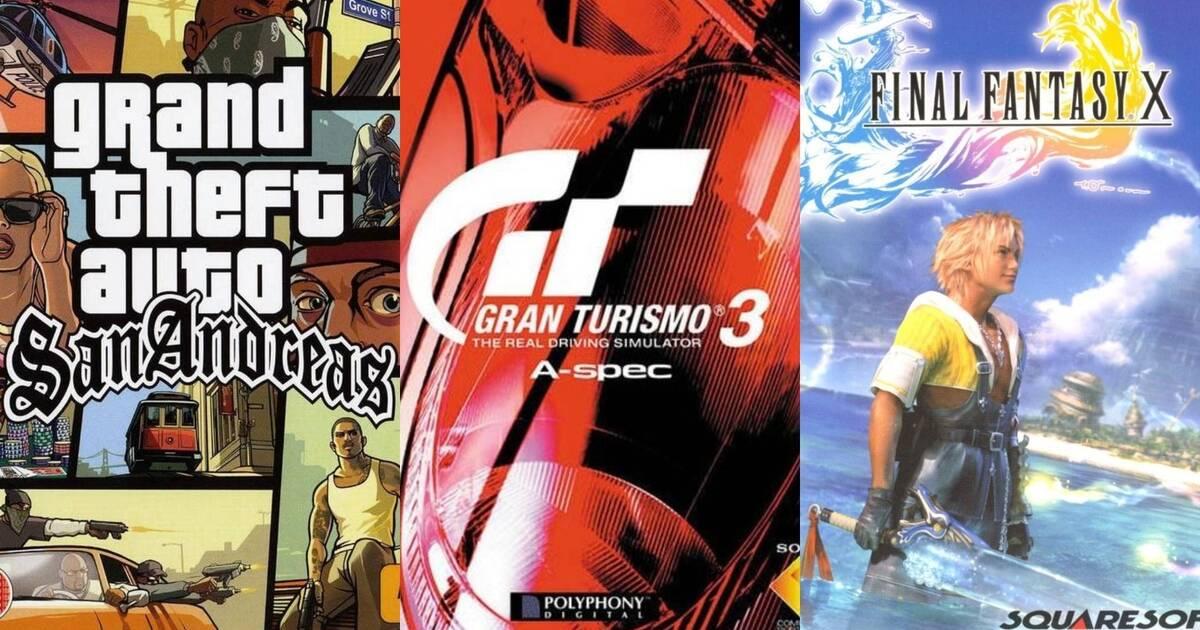 20 aniversario de PS2: Los 20 juegos más vendidos y los más aclamados por la crítica