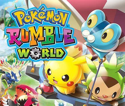 Pokémon Rumble World se actualiza a su versión 1.1