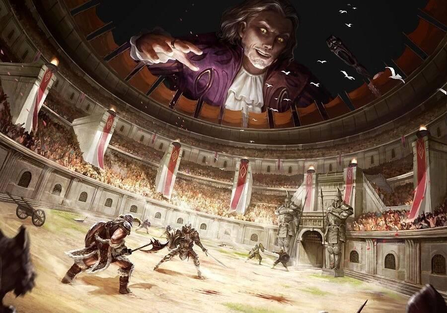 El evento especial La Arena del Caos en The Elder Scrolls Legends regresa esta semana