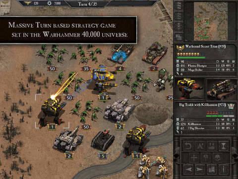 Warhammer 40.000: Armageddon se lanza para iPad