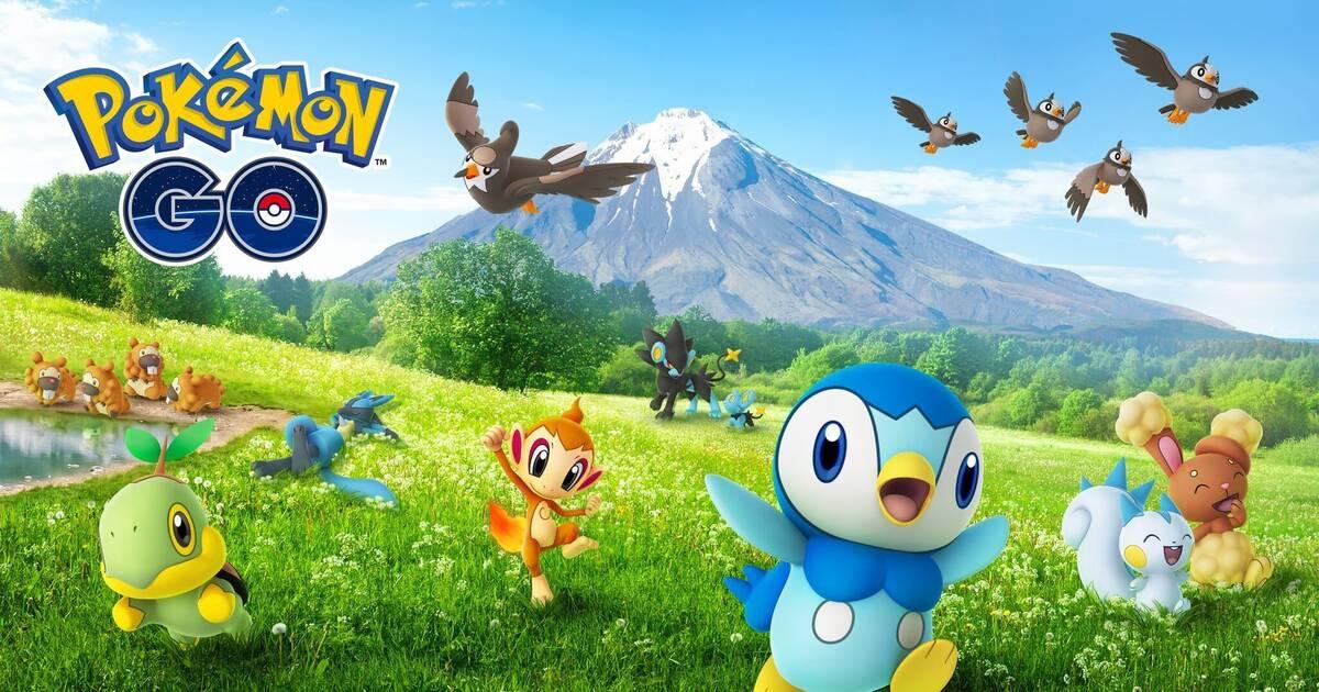 Pokémon Go recibe a los Pokémon de Sinnoh