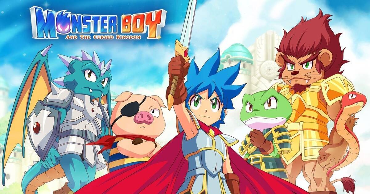 Monster Boy and the Cursed Kingdom llegará a consolas el 6 de noviembre