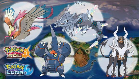 Nintendo distribuye nuevas Megapiedras para Pokémon Sol y Luna