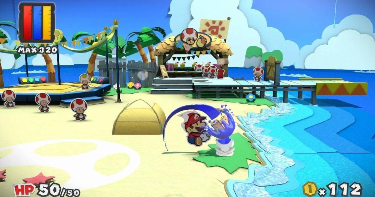 Nintendo muestra la jugabilidad de Paper Mario: Color Splash
