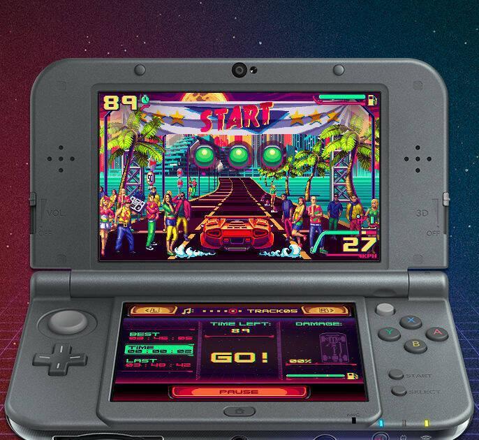 80's Overdrive para Nintendo 3DS ya está casi terminado