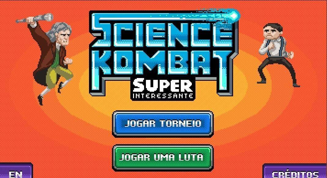 Grandes científicos de la historia pelean en Science Kombat