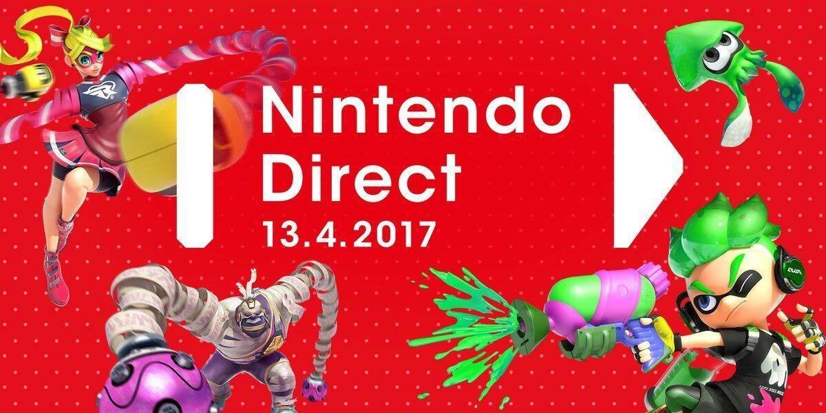 Nintendo anuncia un Nintendo Direct para el jueves 13 de abril
