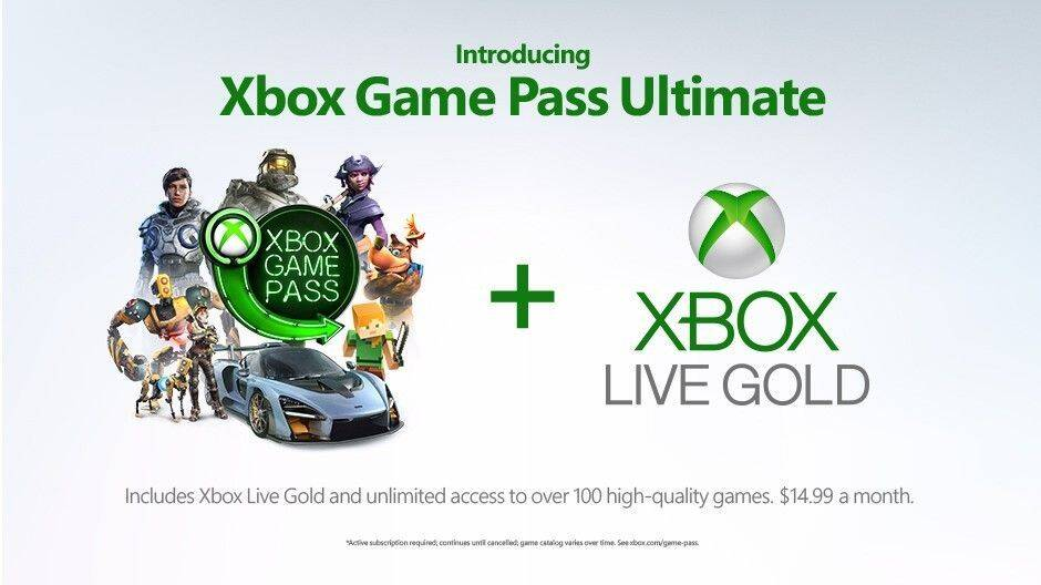 Anunciado Xbox Game Pass Ultimate Xbox Live Gold + Game Pass por 14,99 € al mes
