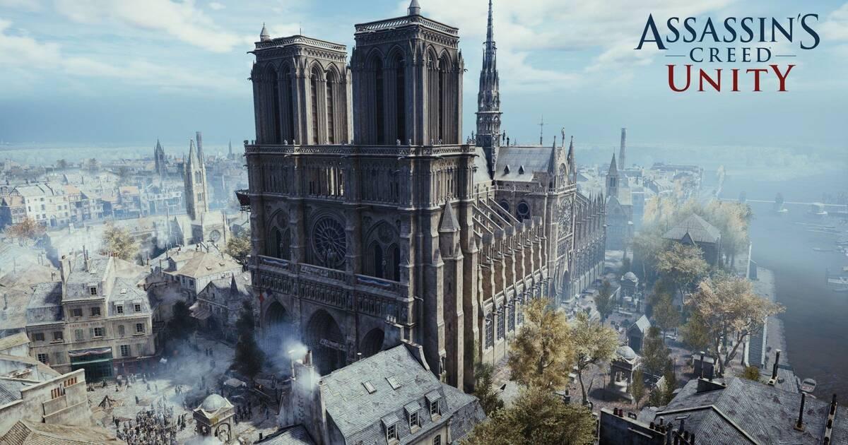 Ubisoft regala Assassin's Creed Unity en PC en honor a la catedral de Notre-Dame