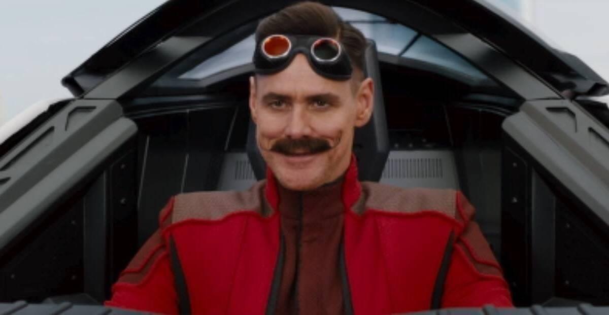 Se filtra el aspecto de Jim Carrey en la película de Sonic