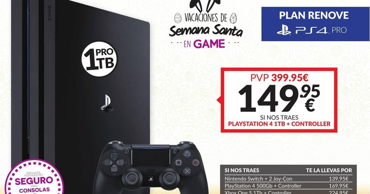 20 Ps4 Pro 500gb O 1tb