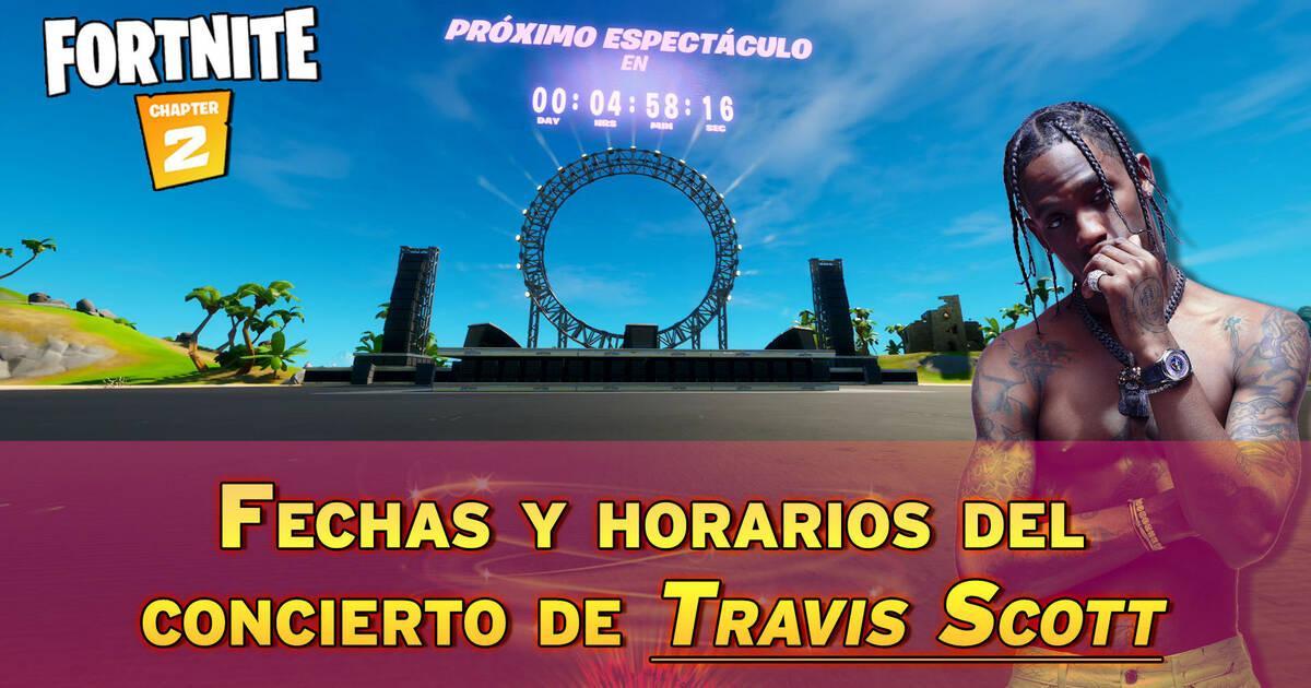 El concierto de Travis Scott en Fortnite estableció un nuevo récord
