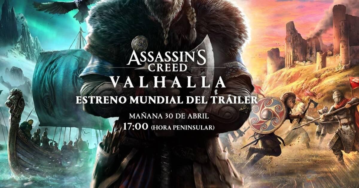Assassin's Creed Vallhala protagonizado por los vikingos mostrará mañana su primer tráiler