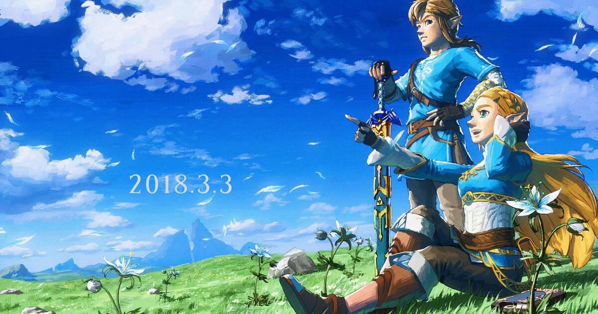 Zelda Breath Of The Wild Nintendo Jamas Desvelara Su Lugar En La