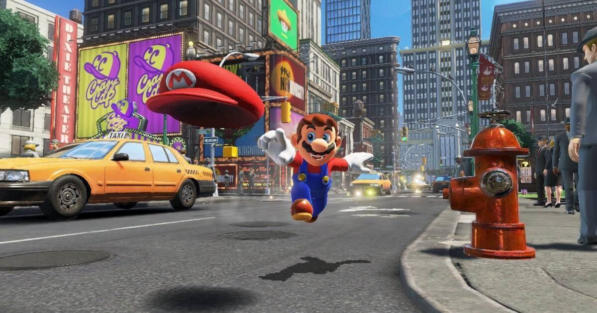 Super Mario Odyssey muestra brevemente algunos de sus escenarios