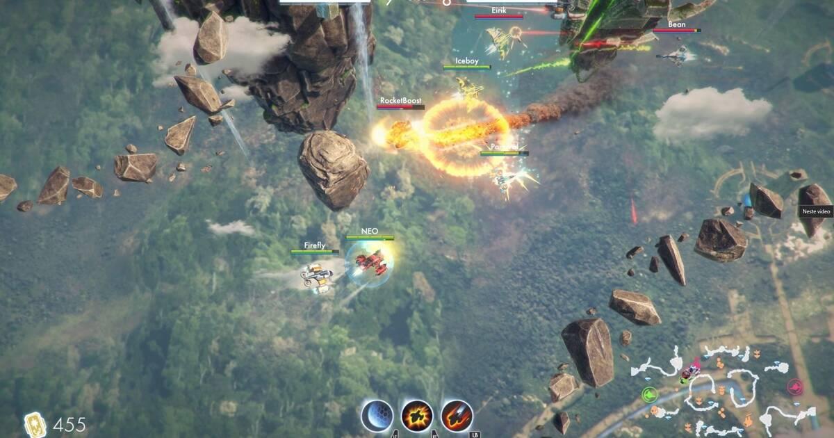 Anunciado Sky Fighter Legends Un Juego De Accion Multijugador Para
