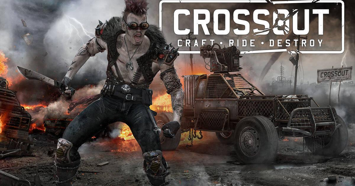 Crossout presents a new character called Fiercehog