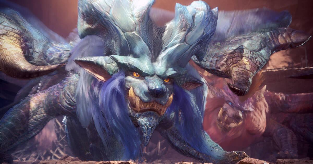 El dragón Lunastra llega a Monster Hunter: World
