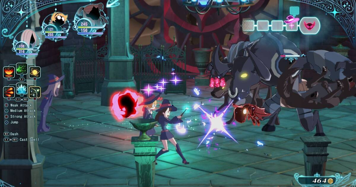 Little Witch Academia: Chamber of Time se lanzará en Occidente en PS4 y PC