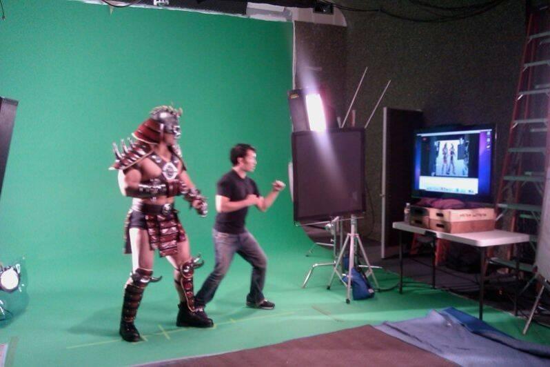 Aparecen nuevas fotografías del rodaje de Mortal Kombat Arcade Kollection HD