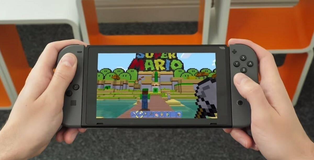 Microsoft explica por qué Minecraft corre a 720p en Nintendo Switch