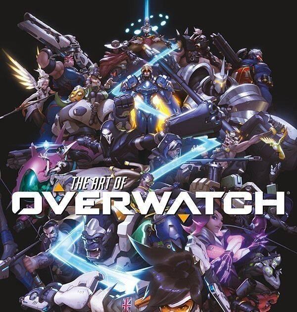 Overwatch presenta su gran libro de arte oficial
