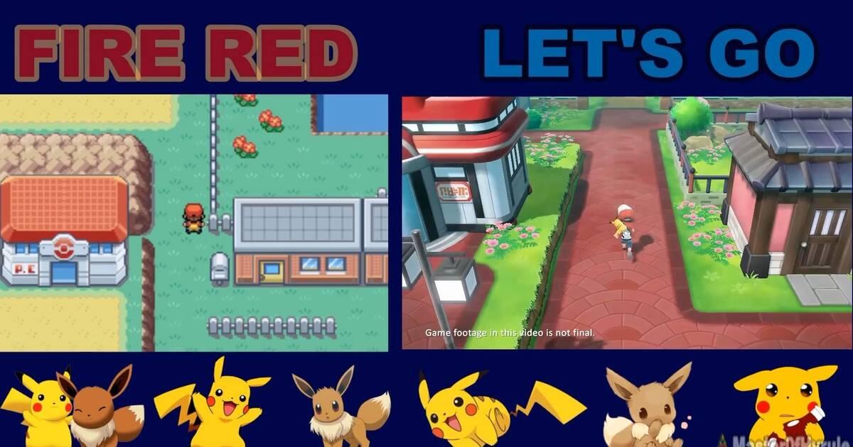 Comparan Pokémon Let S Go Pikachu Eevee Con Pokémon Amarillo Vandal