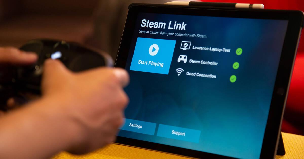 Steam Link ya es compatible con dispositivos iOS (Apple)