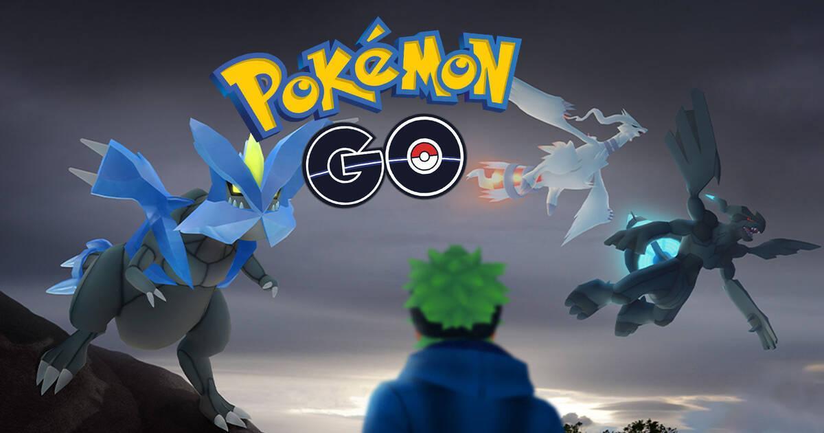 Pokémon GO: muy pronto podrás capturar a Reshiram, Zekrom y Kyurem
