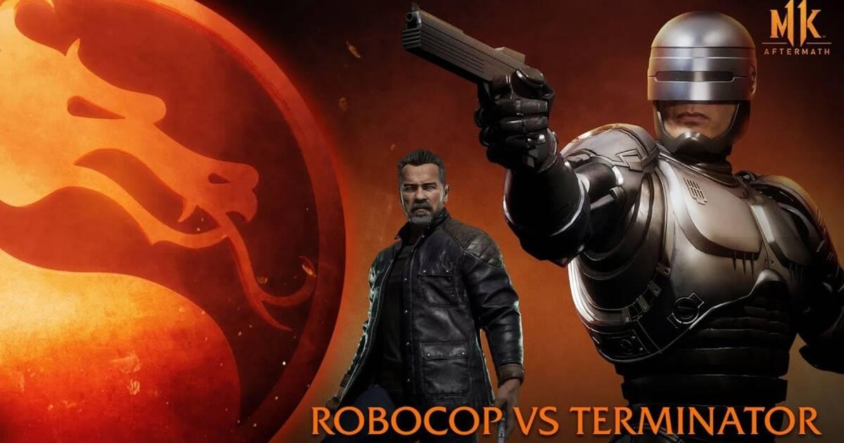 Mortal Kombat 11 Aftermath: Robocop y Terminator se enfrentan a ...