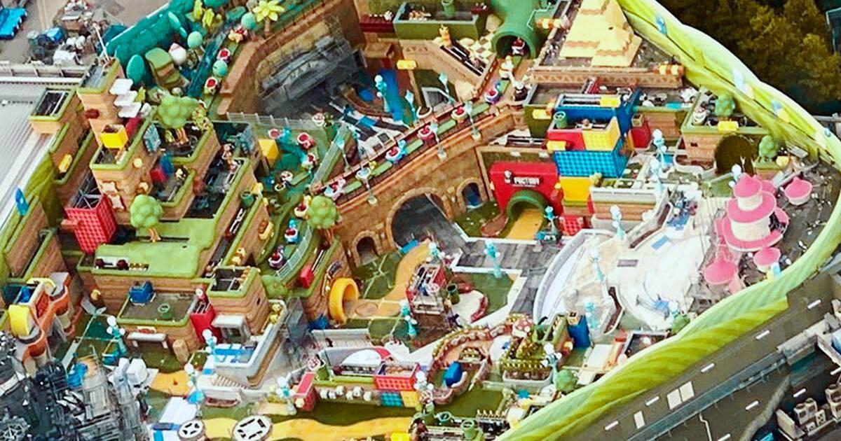 El parque de atracciones Super Nintendo World retrasa su inauguración hasta el próximo año