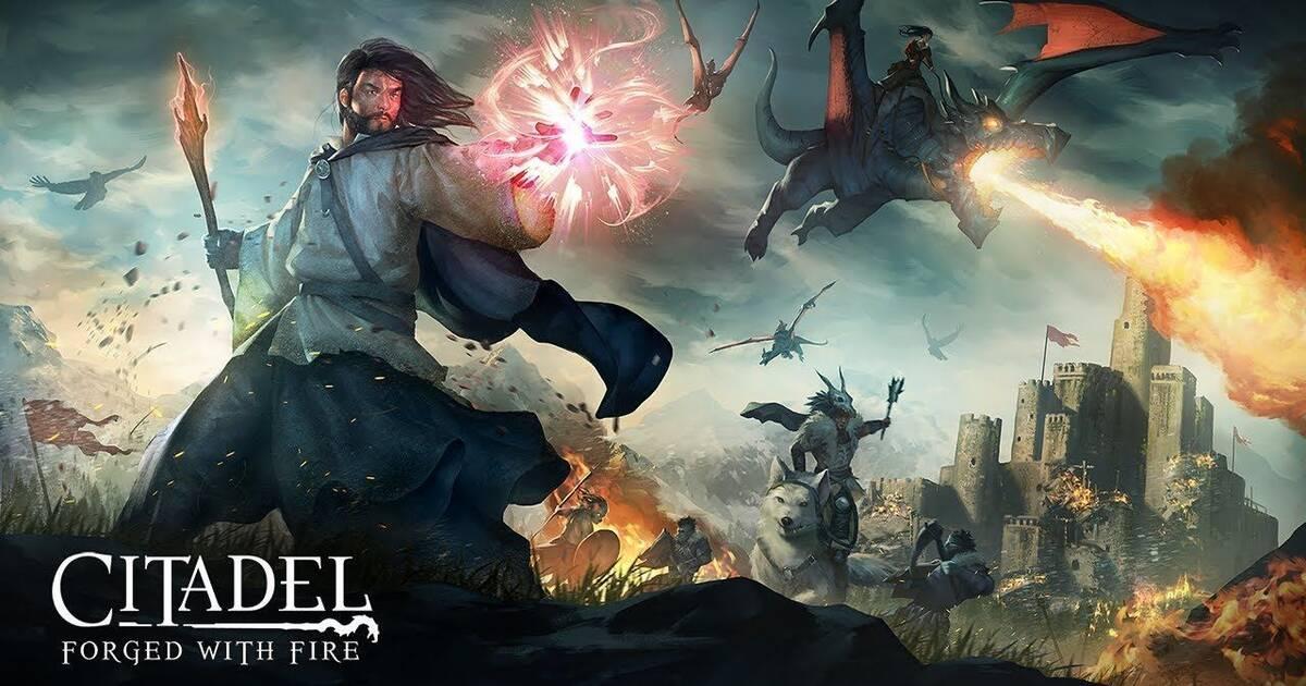 Anunciado el MMO Citadel: Forged With Fire para PS4, PC y Xbox One