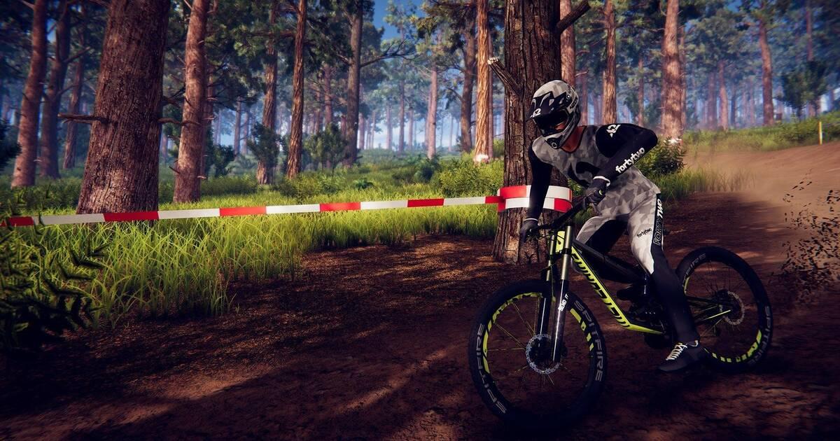 El juego de ciclismo de montaña Descenders llegará a PS4 y Switch en primavera