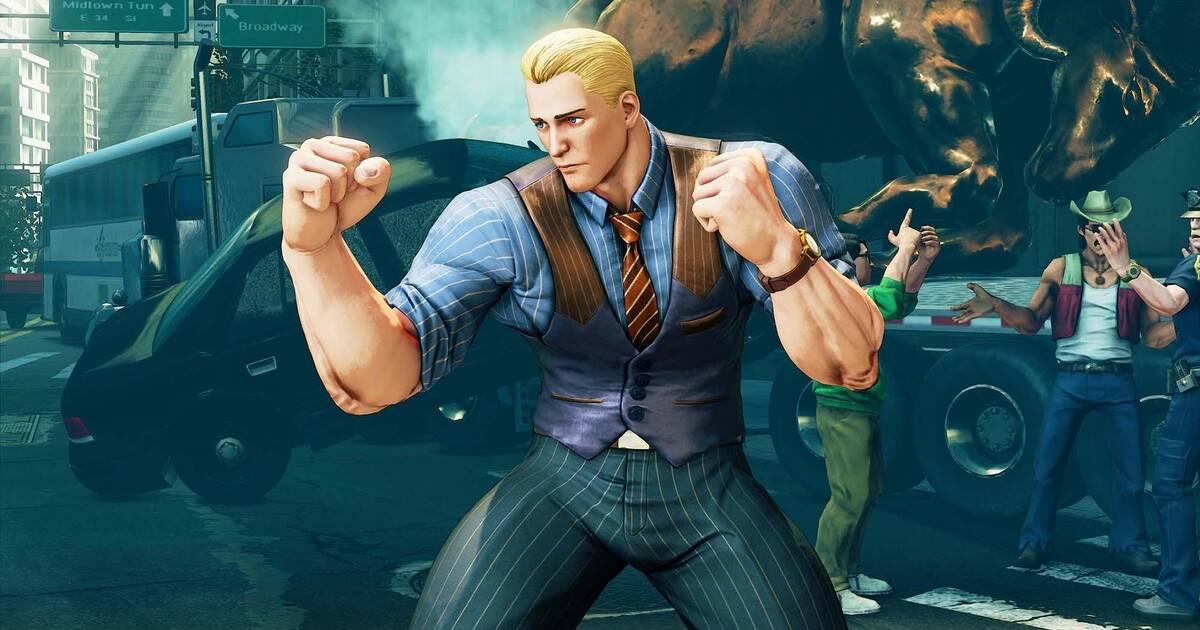 Cody se une al roster de Street Fighter V