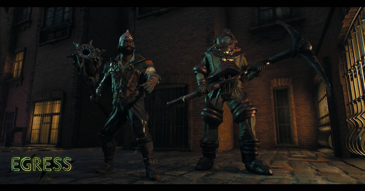 Anunciado Egress Un Battle Royale Al Estilo Dark Souls Para Ps4