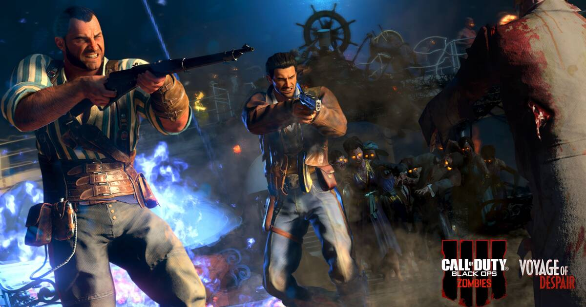 DLC de Call of Duty Zombies filtrado: Black Ops 4