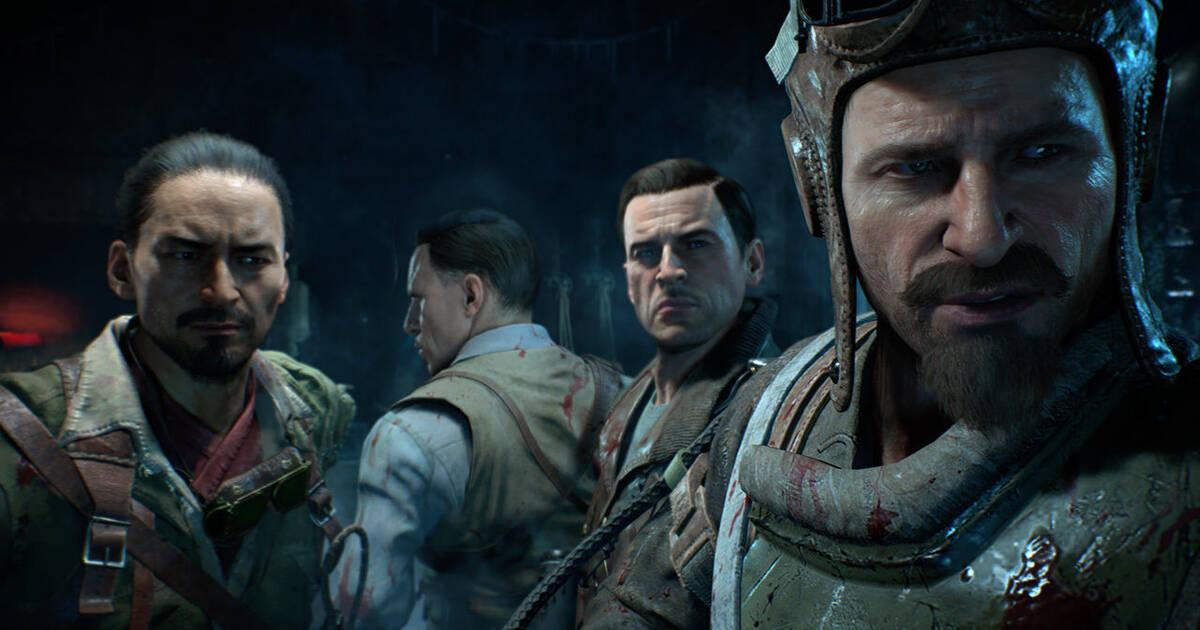 COD Black Ops 4 presenta a los héroes del modo Zombis en Blood of the Dead